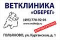 Ветеринарные клиники «Оберег» расположены в районах Алтуфьево и Гольяново. Обе клиники работают КРУГЛОСУТОЧНО. Если Вашему питомцу требуется квалифицированная помощь ветеринарного врача, позвоните к нам в клинику - мы постараемся Вам помочь.