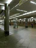 """Станция метро """"Воробьёвы горы"""". Станционный зал."""