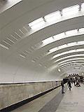 """Станция метро """"Бабушскинская"""". Станционный зал."""