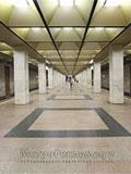 """Станция метро """"Ботанический Сад"""". Станционный зал."""