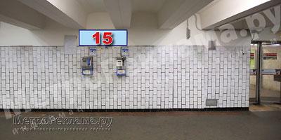 """Информационный указатель в подуличном переходе на станции """"Нагатинская"""""""