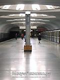 """Станция метро """"Аннино""""."""