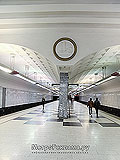 """Станция метро """"Братиславская""""."""