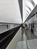 """Станция метро """"Достоевская""""."""