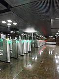 """Станция метро """"Достоевская"""". Подземный вестибюль станции."""