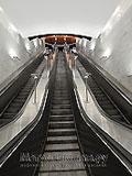 """Станция метро """"Борисово"""". Станционный зал."""